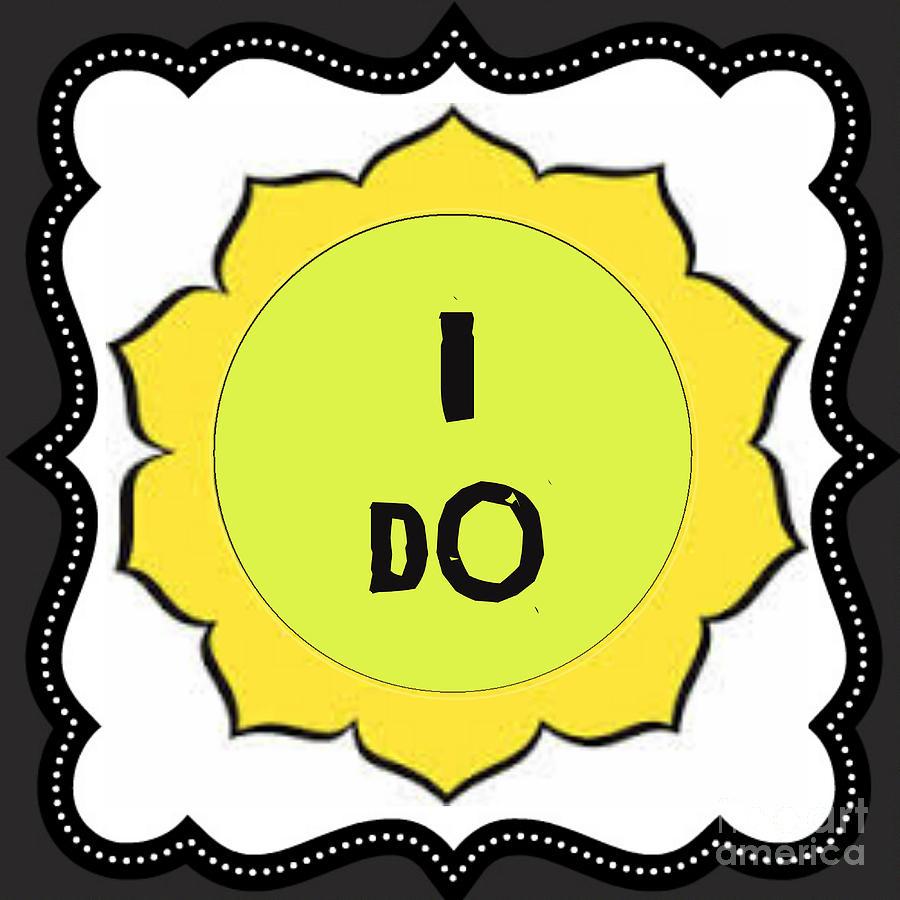 Silberzweig \'i Do\' Mantra Yellow Chakra Solar Plexus Mixed Media by ...