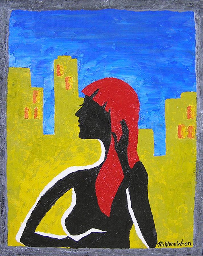 City Print - Silence In The City by Ricklene Wren