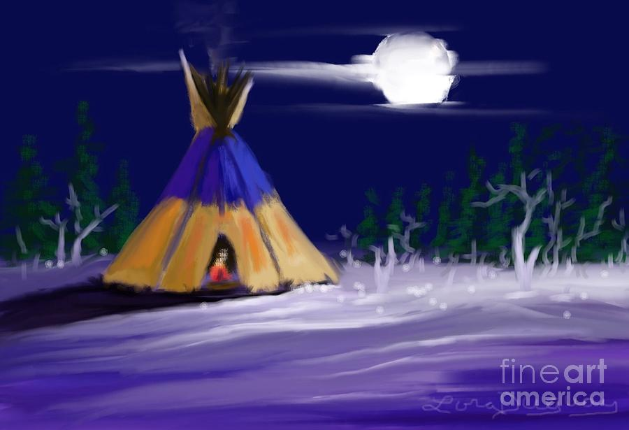 Silence in the Moonlight by Lora Duguay