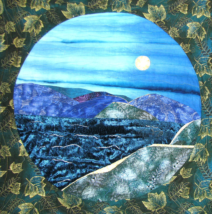 Lord Byron Tapestry - Textile - Silence by Maureen Wartski