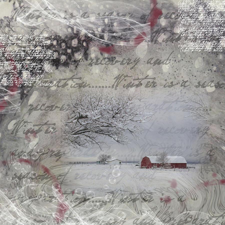 Collage Digital Art - Silence by Nadine Berg
