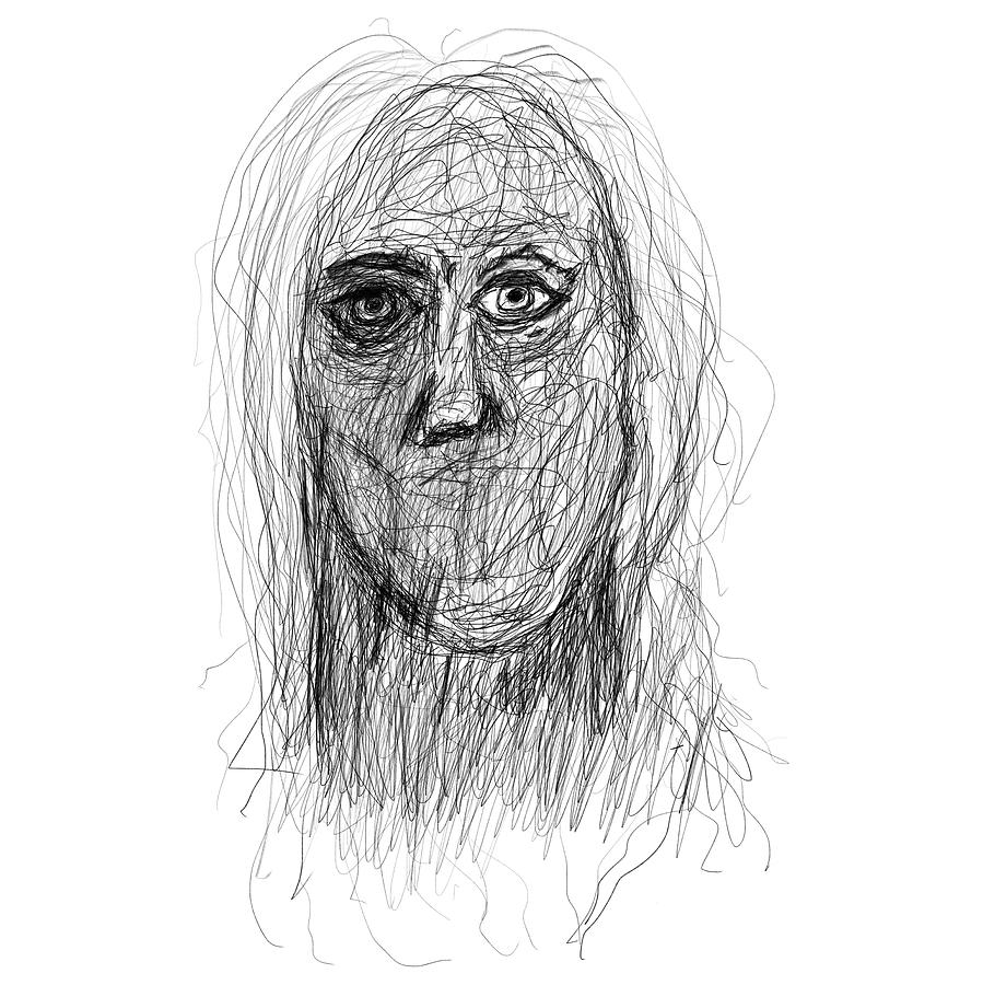Pencil Drawings Drawing - Silenced by Bill Owen
