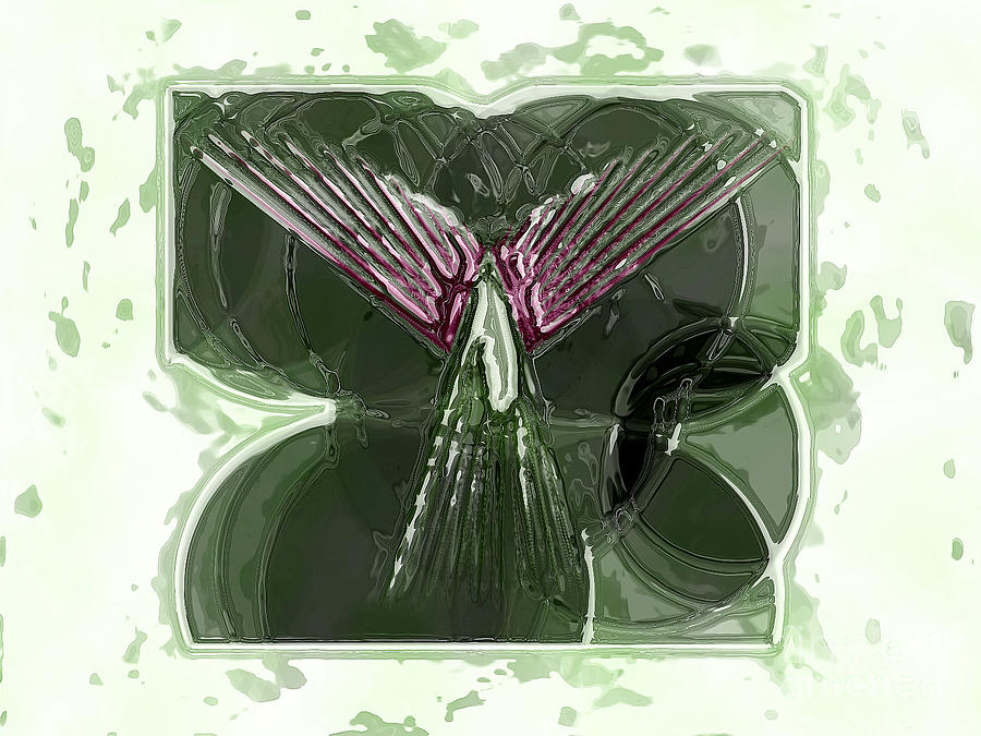 Angel Digital Art - Silent Angel by Patrick Guidato