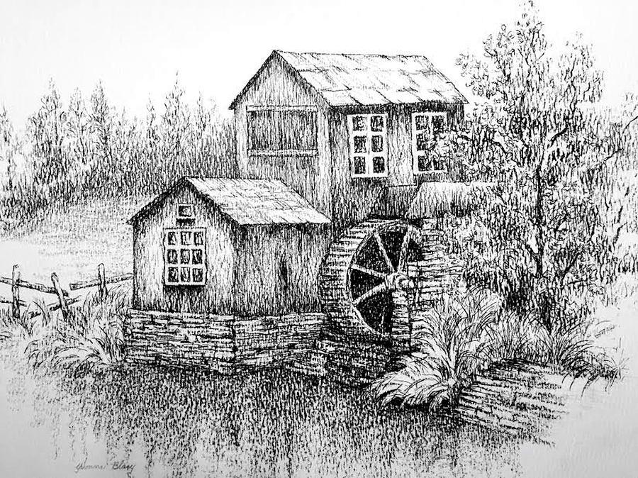 Silent Mill by Yvonne Blasy