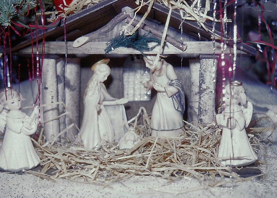 Vintage Photograph - Silent Night Holy Night by JAMART Photography