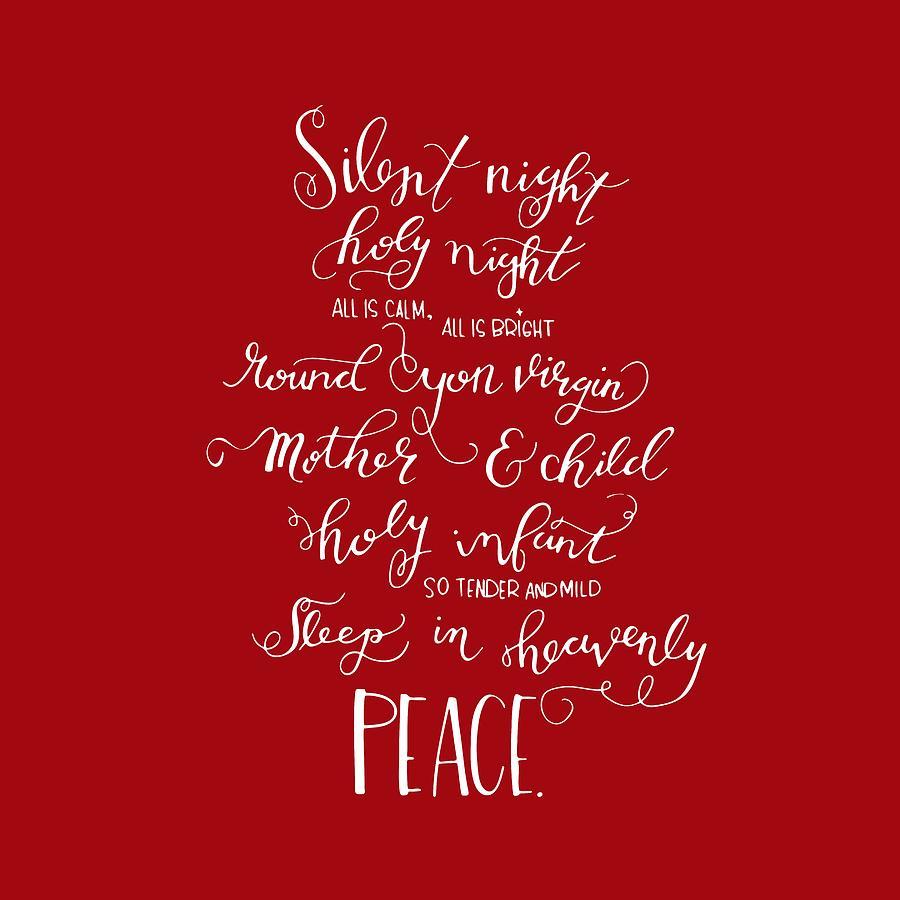Silent Night Holy Night Drawing by Nancy Ingersoll 36d42b3bc