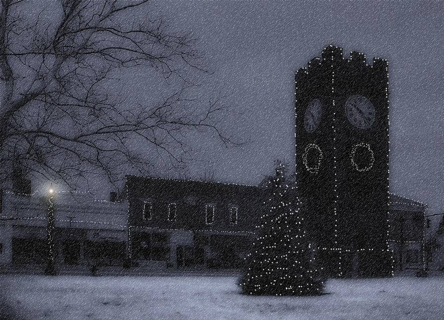 Night Photograph - Silent Night by Kenneth Krolikowski
