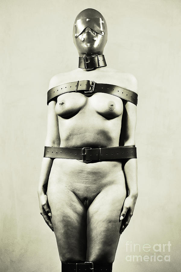 Silent - Nude woman in bdsm fetish style by William Langeveld