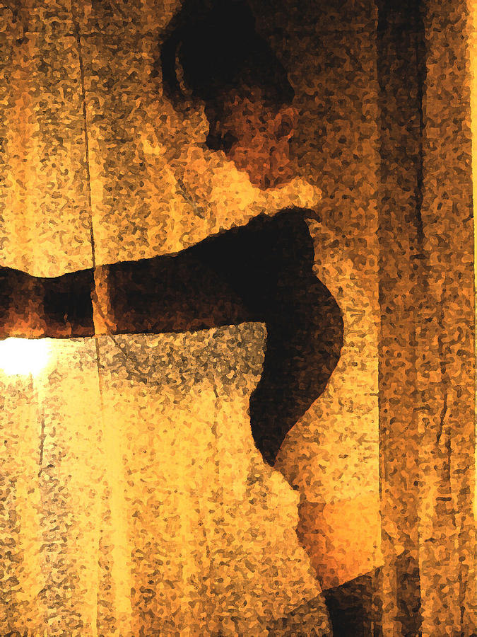 Woman Photograph - Silhouette by B and C Art Shop