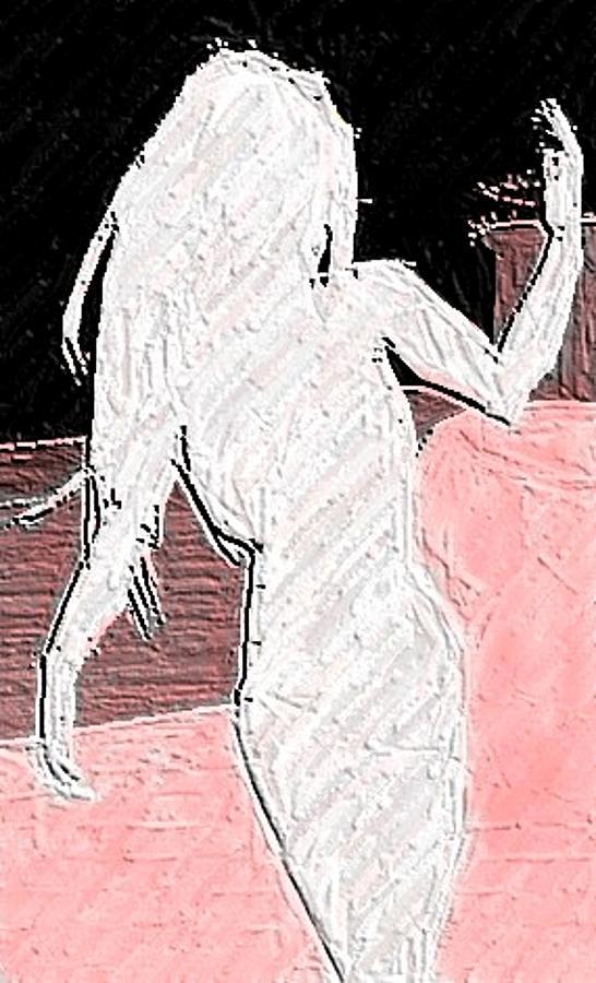 Silhouette Digital Art by Margie  Byrne