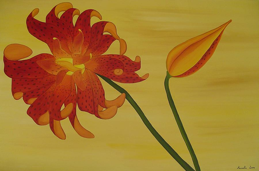 Flower Painting - Silicum Langfoliom  by Marinella Owens