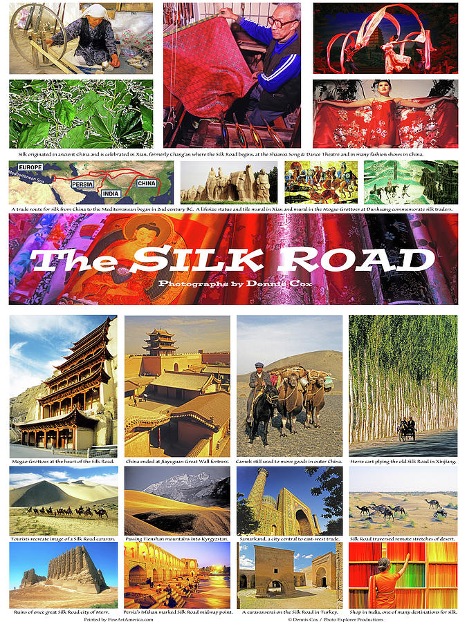 Silk Road Poster Photograph