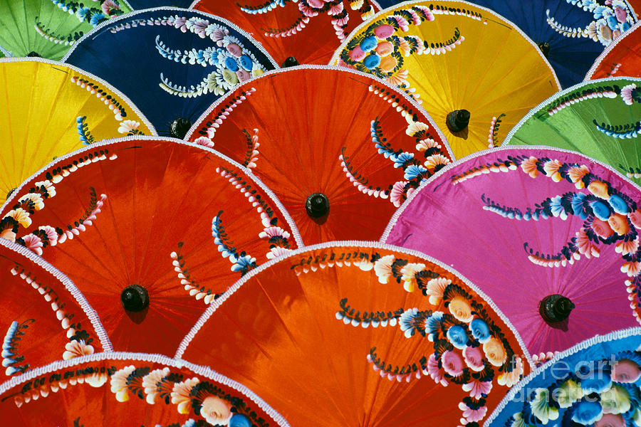 Beautiful Photograph - Silk Umbrella Factory by Gloria & Richard Maschmeyer - Printscapes