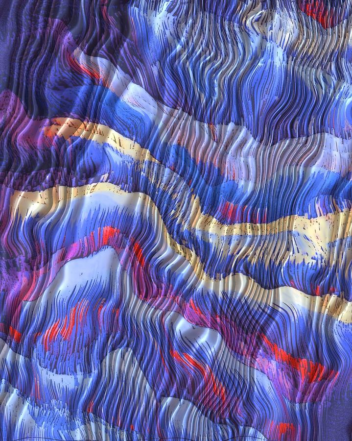 Silky Dreams Mixed Media by Susan  Epps Oliver