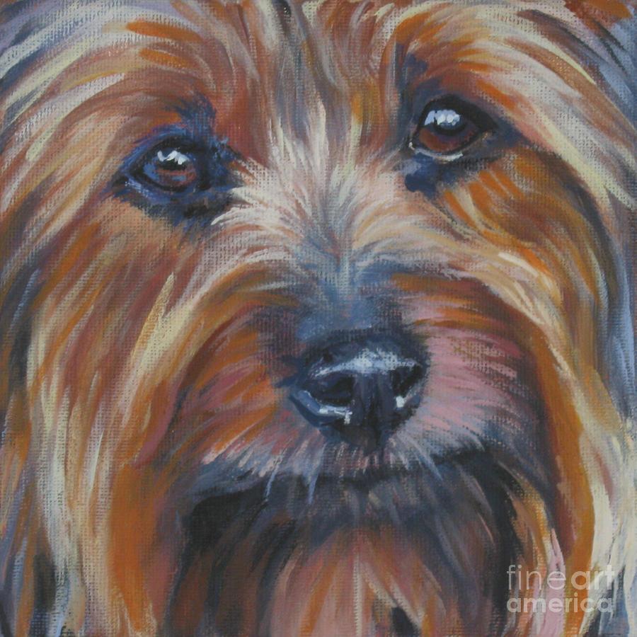 Silky Terrier Painting - Silky Terrier by Lee Ann Shepard