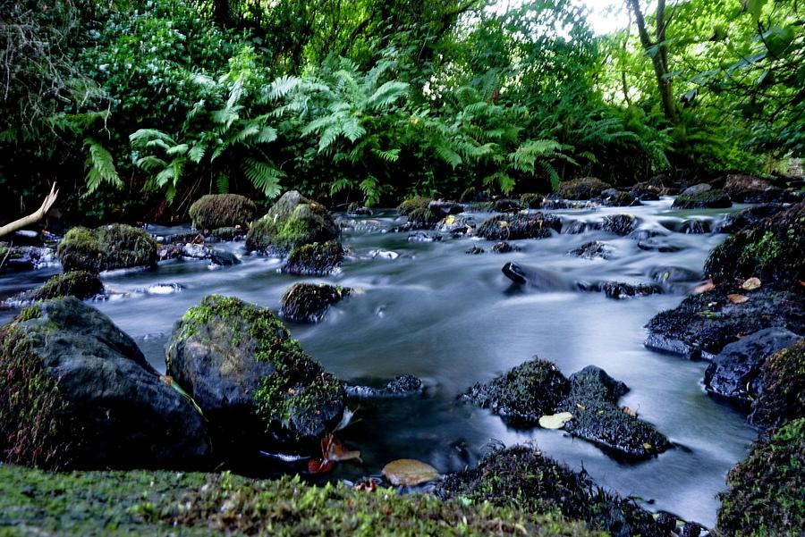 Silky Waters Photograph by John Lonsdale