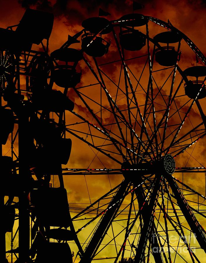 Festival Photograph - Sillhouette by Amanda Kessel