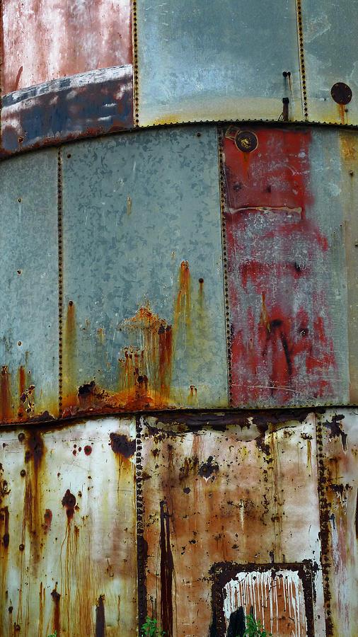 Rust Photograph - Silo Series 1 by Skip Hunt