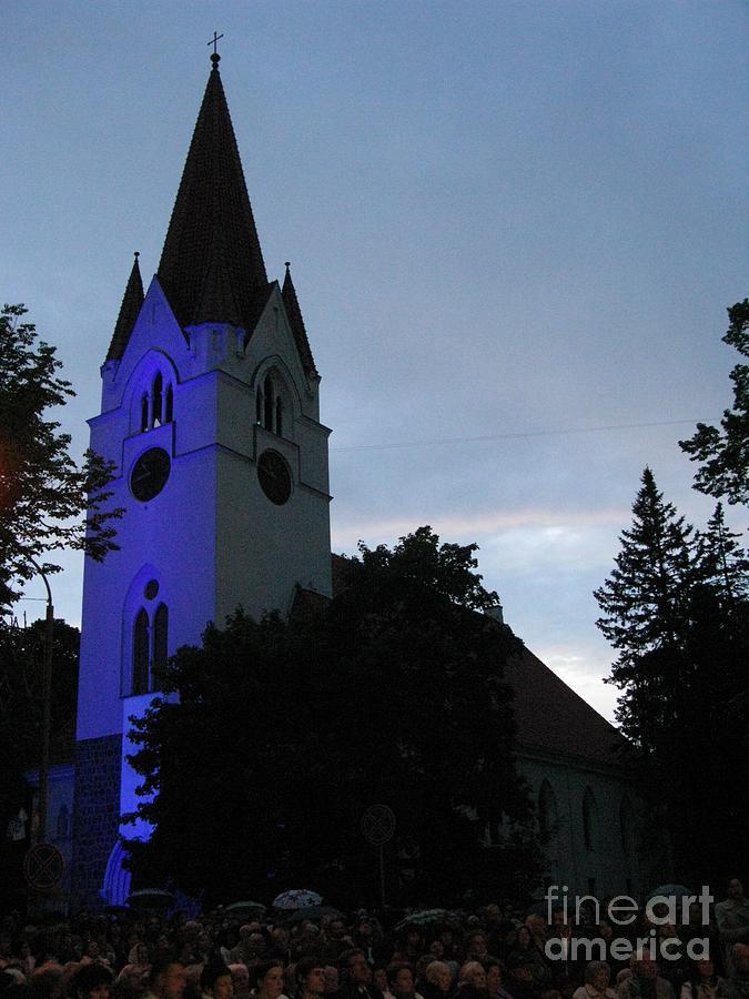 Lithuania Photograph - Silute Lutheran Evangelic Church Lithuania 01 by Ausra Huntington nee Paulauskaite