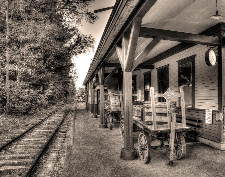 Silver Lake Rail Road 253 Photograph