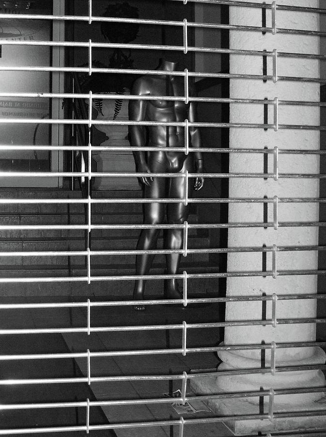 San Juan Photograph - Silver Mannequin II by Anna Villarreal Garbis