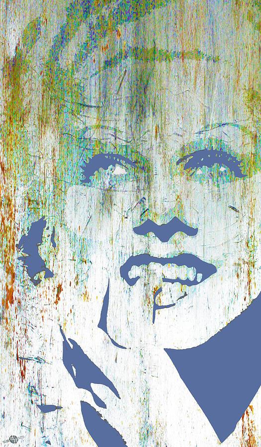 Jean Harlow Mixed Media - Silver Screen Jean Harlow  by Tony Rubino