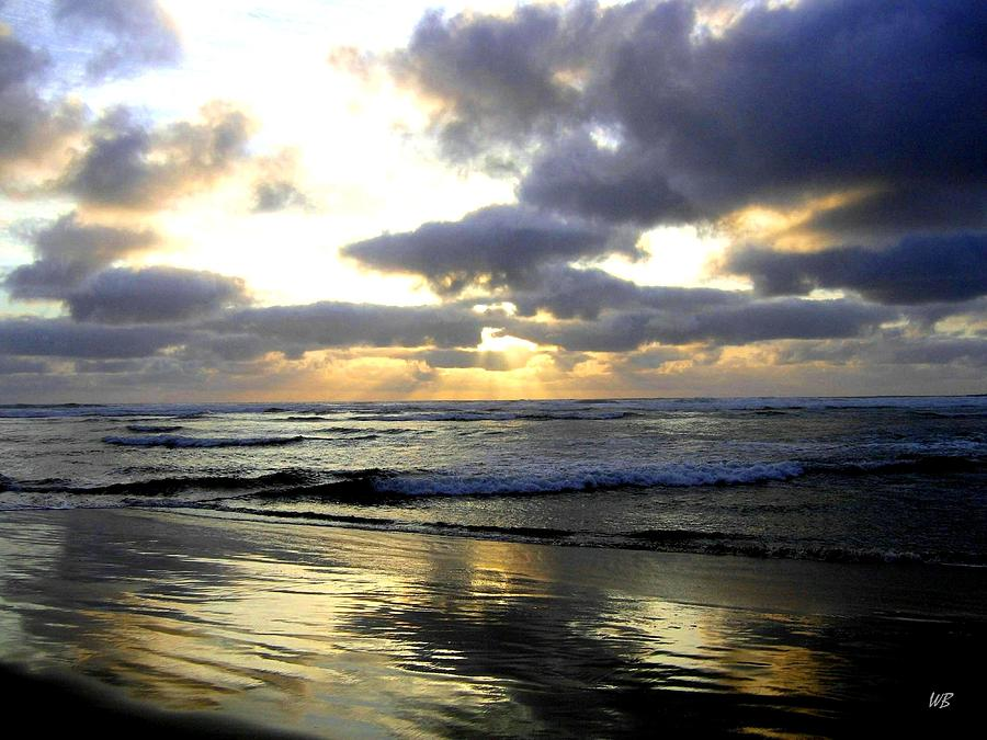 Sunset Photograph - Silver Shores by Will Borden