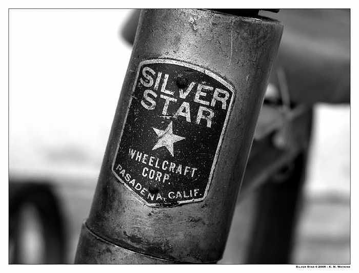 Tricycle Photograph - Silver Star by Kate Watkins