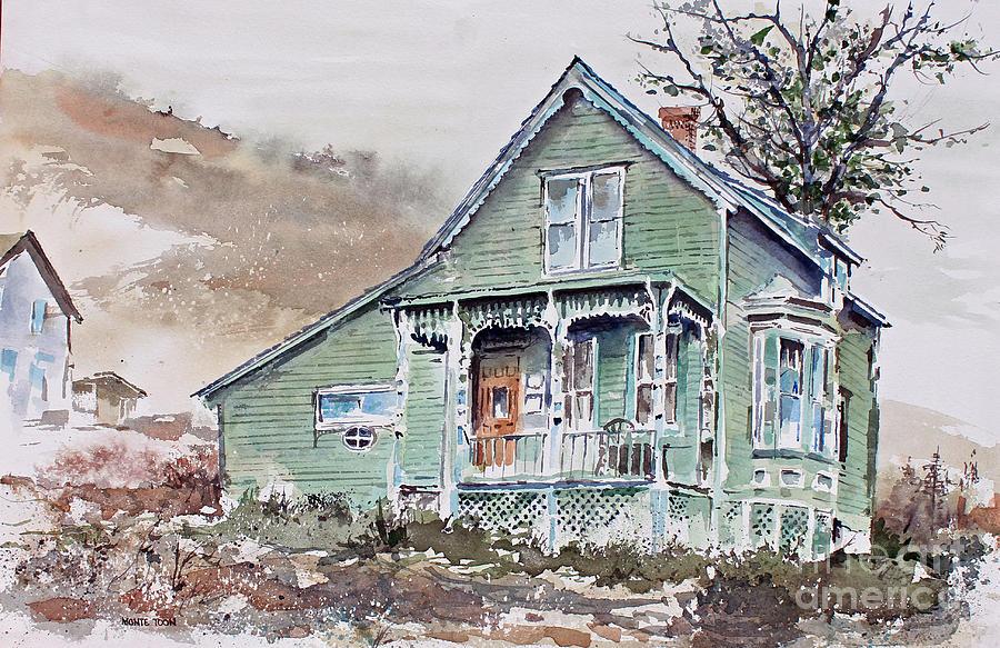 Colorado Painting - Silverton Colorado by Monte Toon