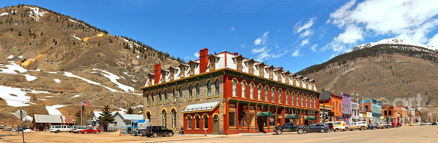 Silverton Grand Imperial Hotel Panorama By Adam Jewell