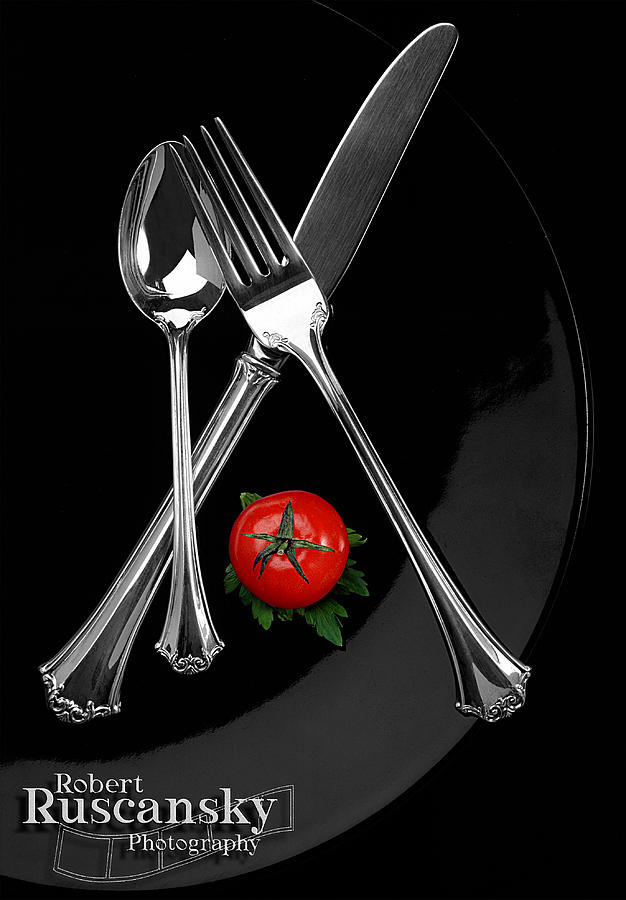 Silverware Photograph by Robert Ruscansky