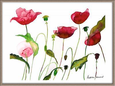 Popies Painting - Simple Beauty by Pratibha Garewal