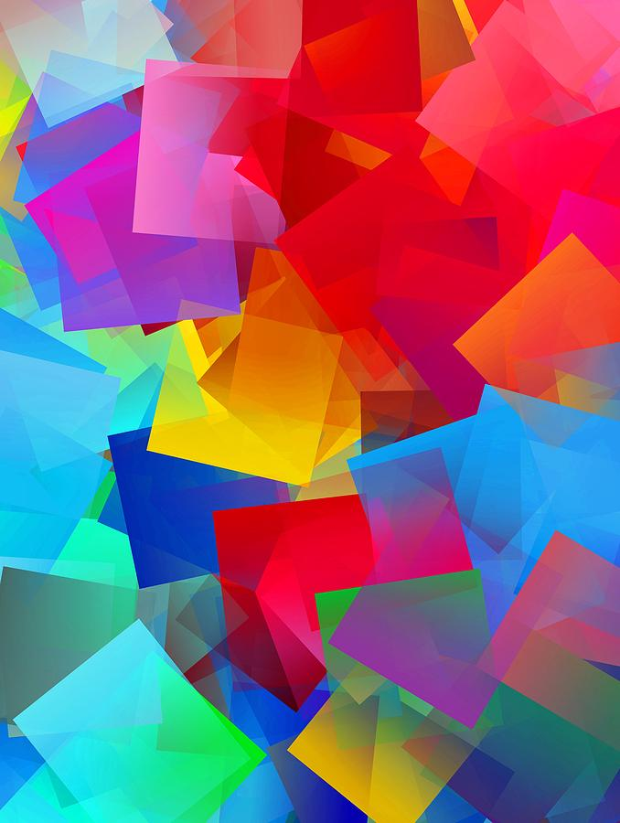 Simple Cubism Abstract 57