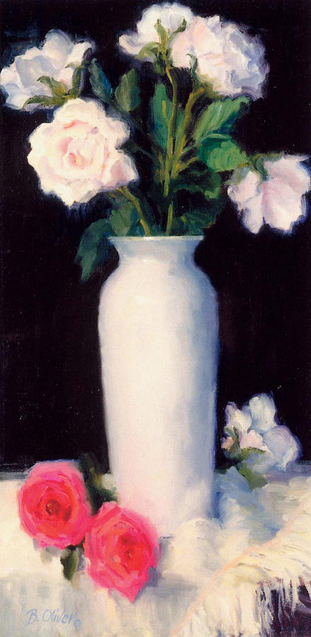 Still Life Painting - Simple Elegance by Bunny Oliver