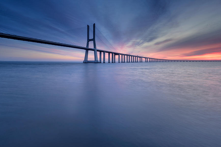 Simple Long Bridge Photograph By Paulo Pereira