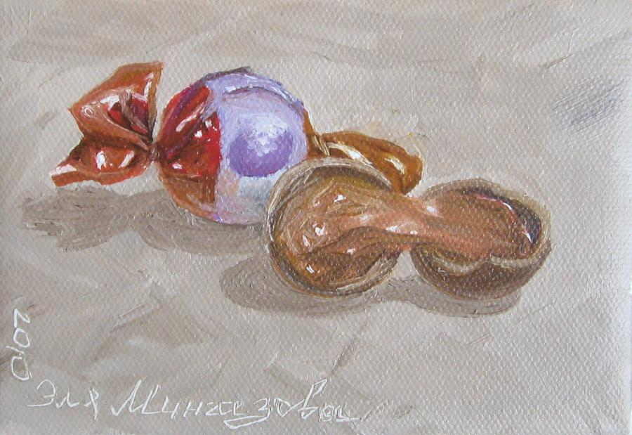 Candy Painting - Simple Pleasure by Eleonora Mingazova