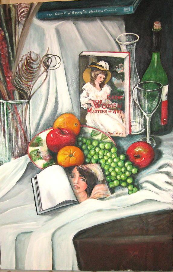 Still Life Painting - Simple Pleasures by Eileen Kasprick