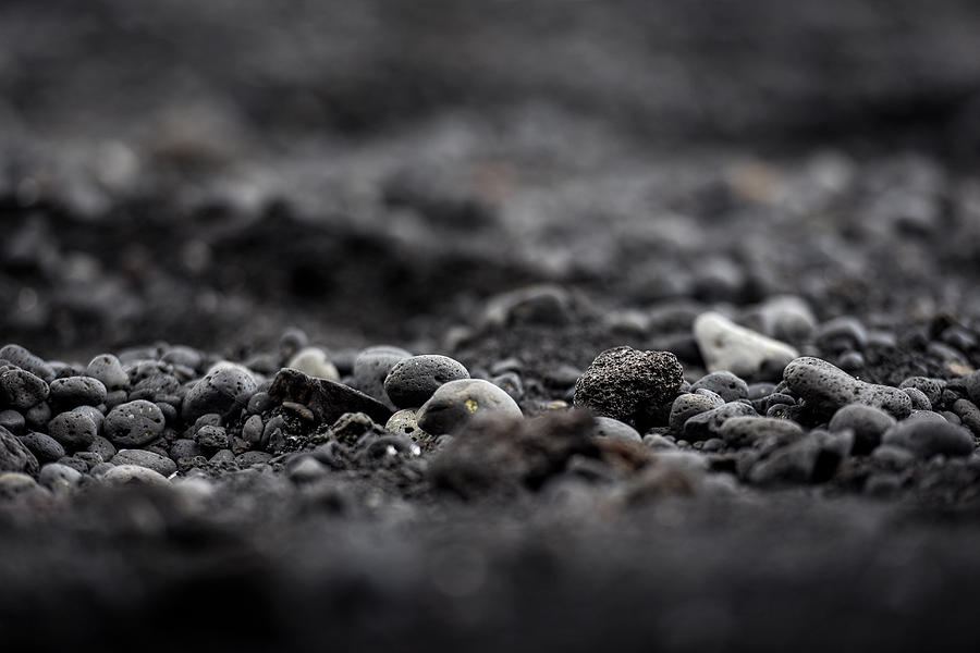 Simple Rocks on the Sand by Jeremy Clinard