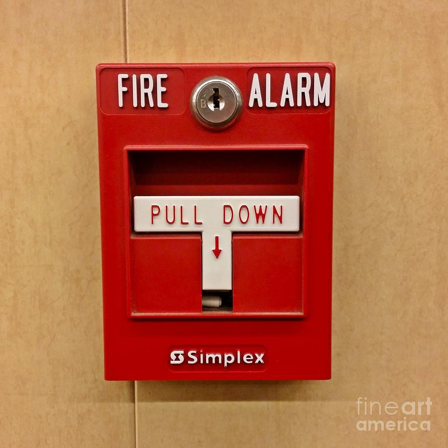 Simplex Fire Alarm Pull Station