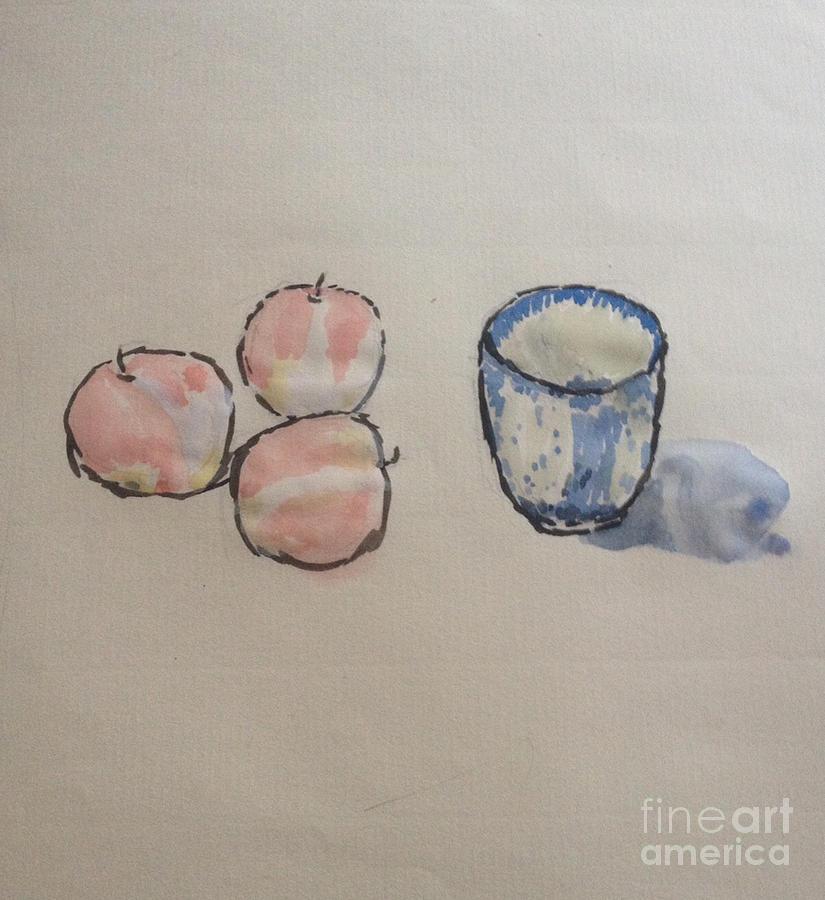 Simplicity Of Beauty Painting by Sawako Utsumi