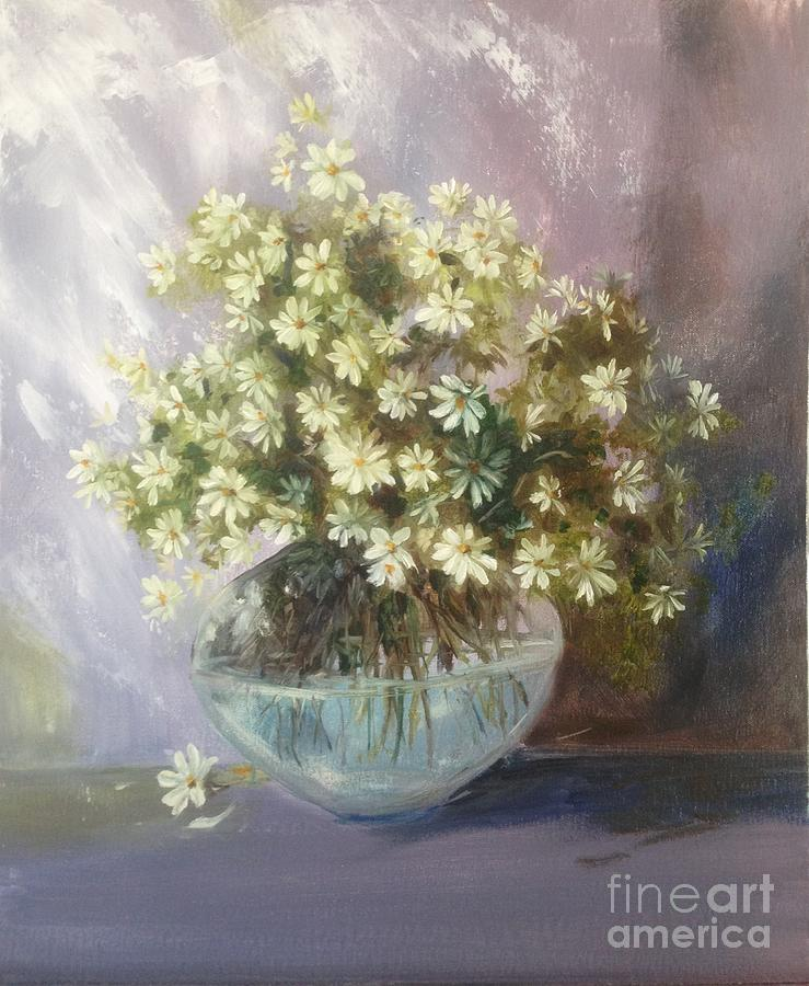 Simplicity Of Daisies... Painting