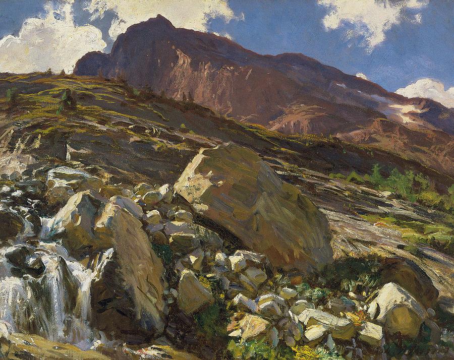Sargent Painting - Simplon Pass by John Singer Sargent