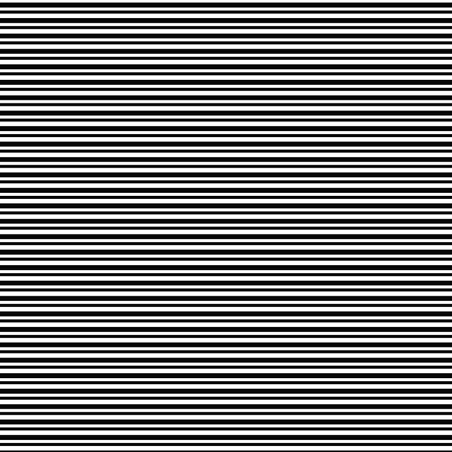 Simply Stripes- Art By Linda Woods Digital Art