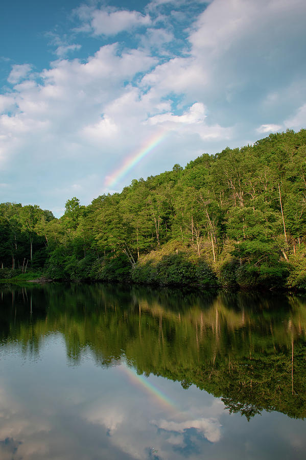 North Carolina Photograph - Sims Pond by Jim Neal