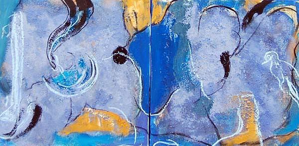 Sin Titulo Painting by Soledad Fernandez