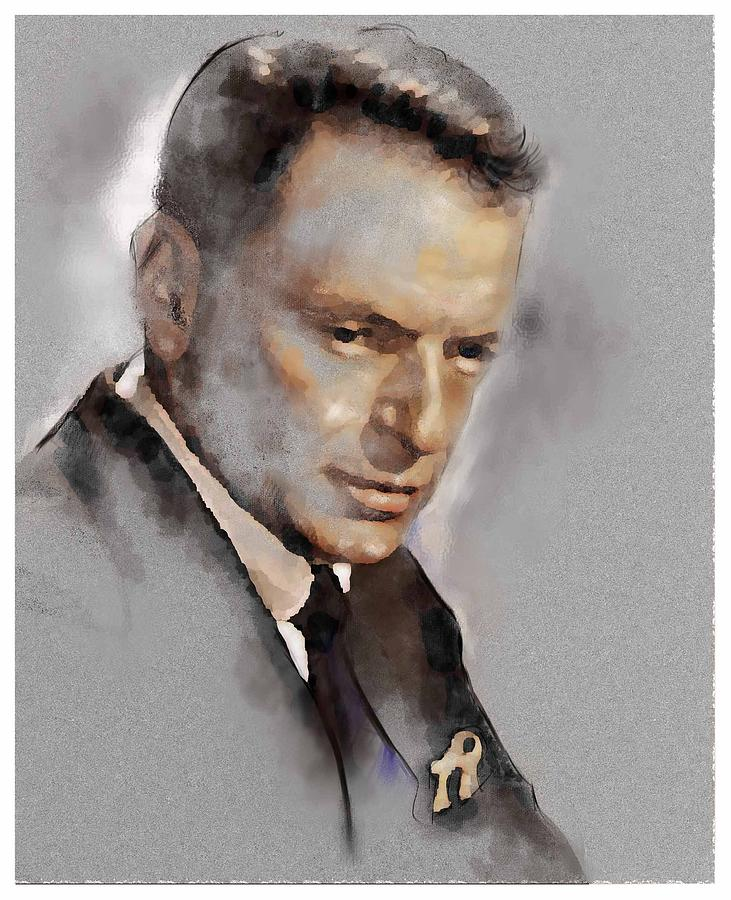 Franky Painting - Sinatra by James Robinson