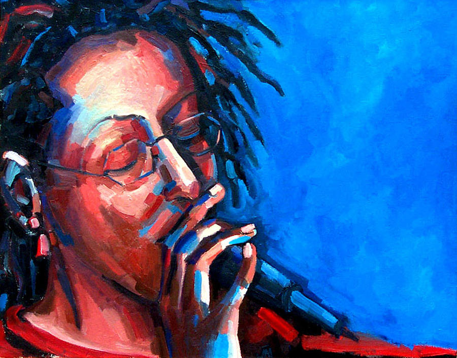 Portrait Painting - Since I Fell For You by Jackie Merritt