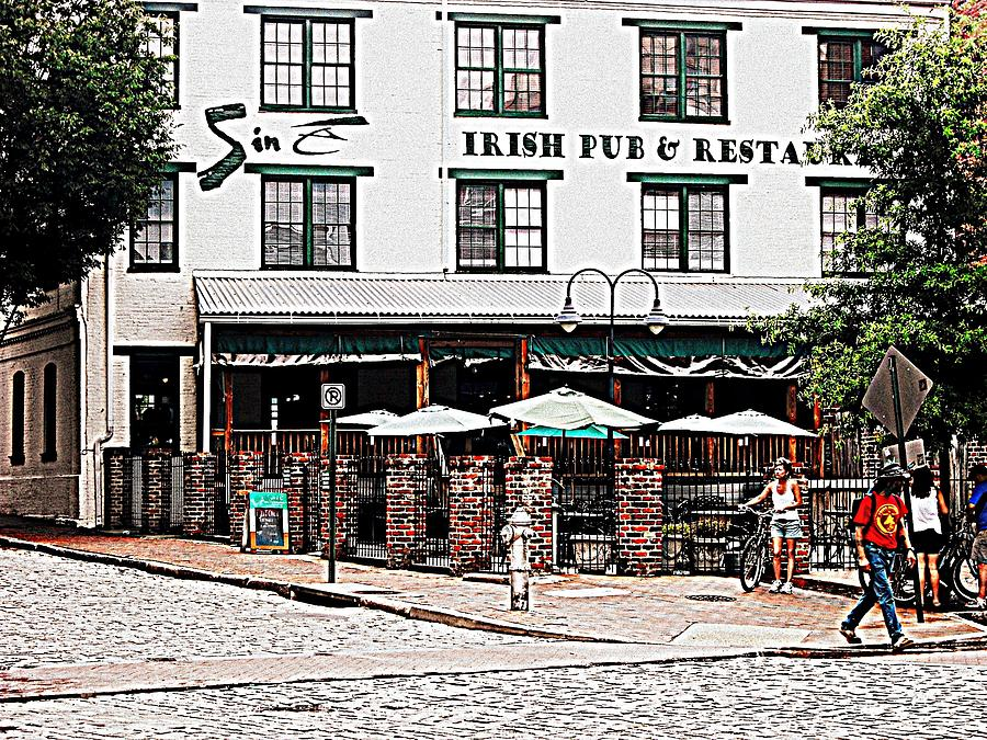 sine irish pub photograph by karen c. Black Bedroom Furniture Sets. Home Design Ideas