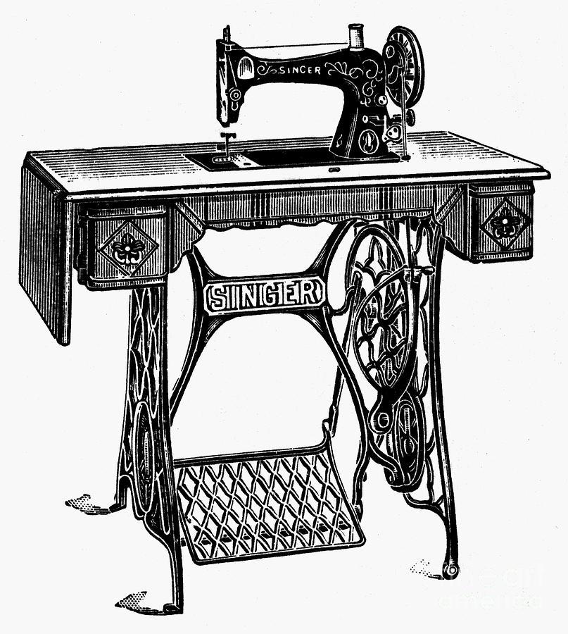 каждом картинки швейных машин так зверь отдает