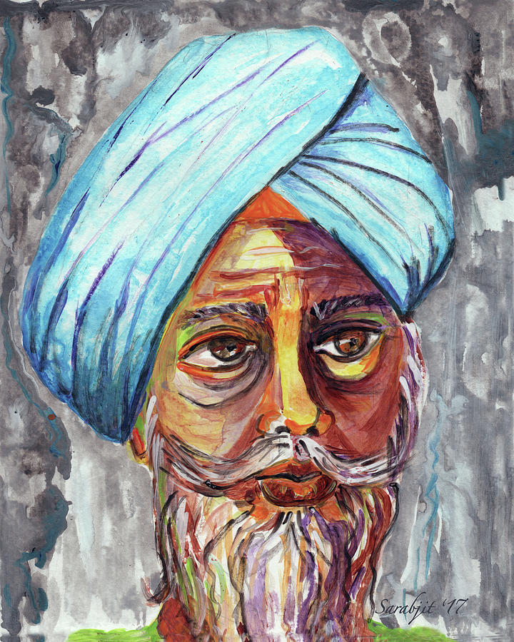 Singhs and Kaurs-4 by Sarabjit Singh